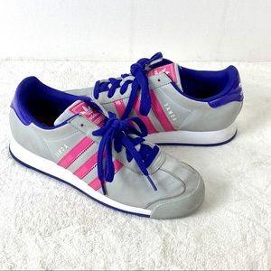 Womens Adidas Samoa OrthoLite Lace Up Tennis Shoes